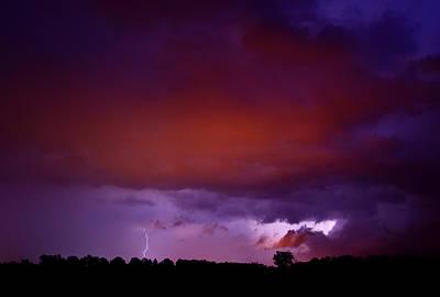 Lightning Photograph - Lightning by Cale Best
