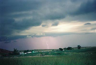 Photograph - Lightning  Field by Trent Mallett