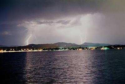 Photograph - Lightning Lake by Trent Mallett