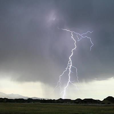 Lightning Photograph - Lightning Strike by Bill Dunford
