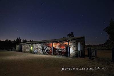 Photograph - Lights by James Mcinnes