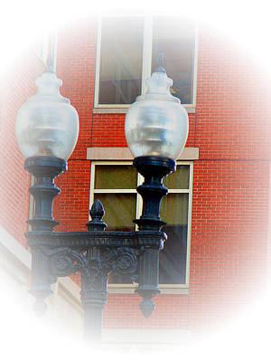 Lights Of Boston Art Print by Marie Jamieson