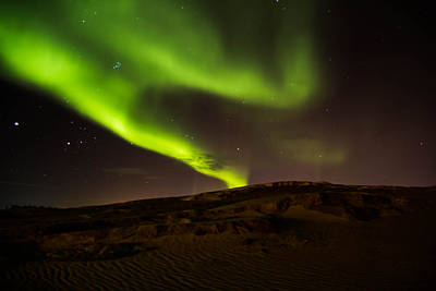 Photograph - Lights Over The Desert by Darren Langlois