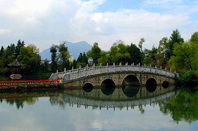 Photograph - Lijiang's Black Dragon Pool by Carla Parris