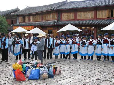 Photograph - Lijiang's Naxi by Carla Parris