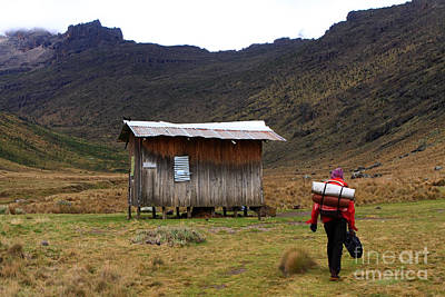 Photograph - Liki North Hut by Aidan Moran