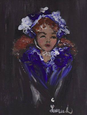 Lil Girl Blue Art Print