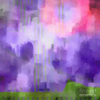 Painting - Lilac Light by Lutz Baar