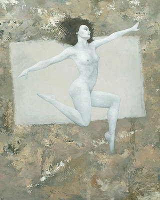 Nude Painting - Lilith by Steve Mitchell