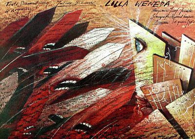 Mixed Media - Lilla Weneda by Andrzej Pagowski
