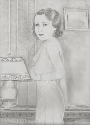 Lillian Art Print by Jami Cirotti