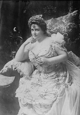 Sex Symbol Photograph - Lillian Russell 1861-1922, The Plump by Everett