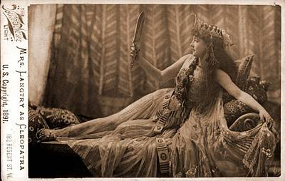 Lillie Langtry 1853-1929, As Cleopatra Art Print