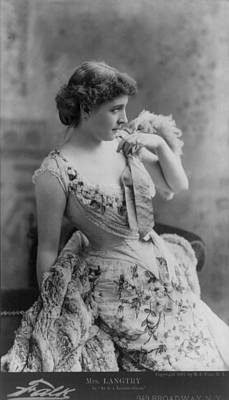 Lillie Langtry 1853-1929, In As In The Art Print