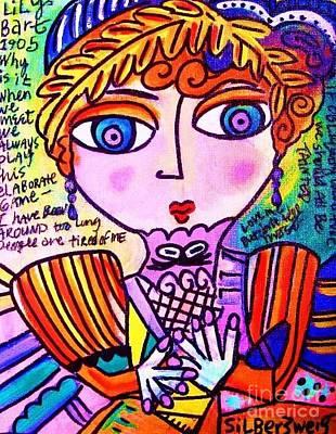 Lily Bart Art Print