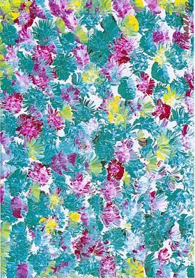 Lily Art Print by Rhetta Hughes