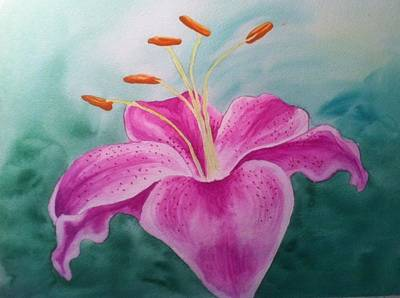 Painting - Lily by Stephanie Reid