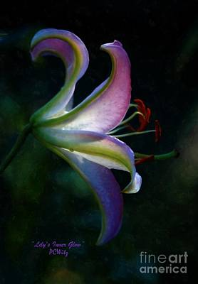 Photograph - Lily's Inner Glow by Patrick Witz