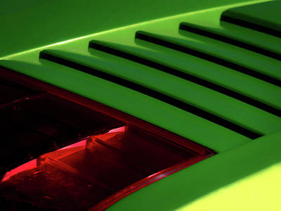 Automotive Digital Art - Lime Light by Douglas Pittman