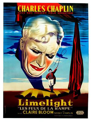 Postv Photograph - Limelight Aka Limelight Les Feux De La by Everett