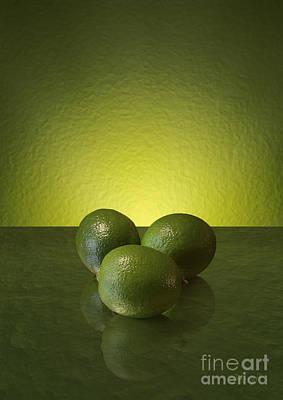 Digital Art - Limes by Johnny Hildingsson