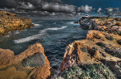Photograph - Limestone Coast by Wayne Sherriff