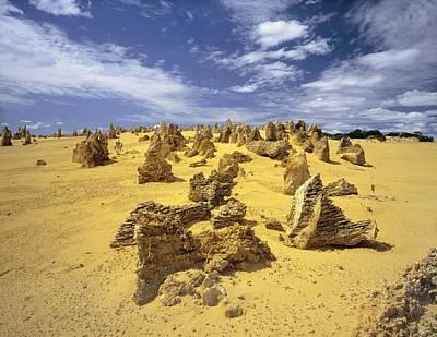 Limestone Karst Formations Art Print