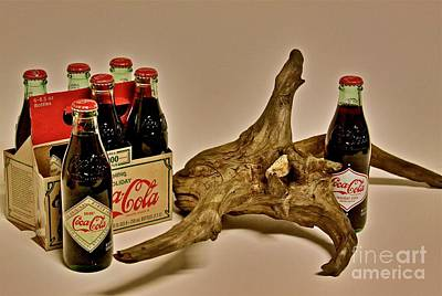 Art Print featuring the photograph Limited Edition Coke by Joe Finney