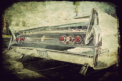 Photograph - Lincoln Continental by Joel Witmeyer