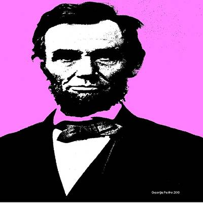 Lincoln Art Print by George Pedro