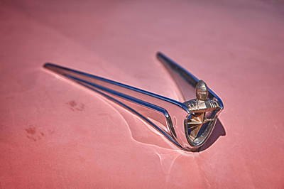 Lincoln Hood Ornament Art Print by Richard Steinberger