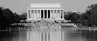 Photograph - Lincoln Memorial 1 by Andrew Fare