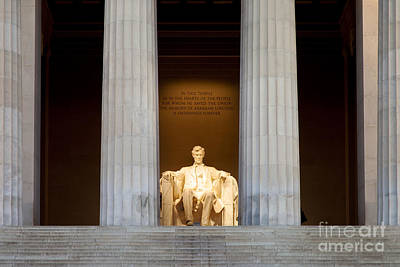 Photograph - Lincoln Memorial by Brian Jannsen