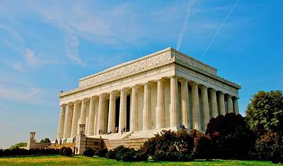 Photograph - Lincoln Memorial by Eric Tressler