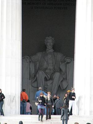 Photograph - Lincoln Memorial by Keith Stokes