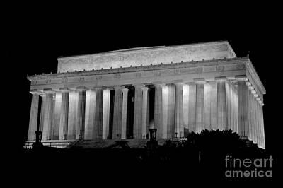Photograph - Lincoln Memorial by Mark Dodd