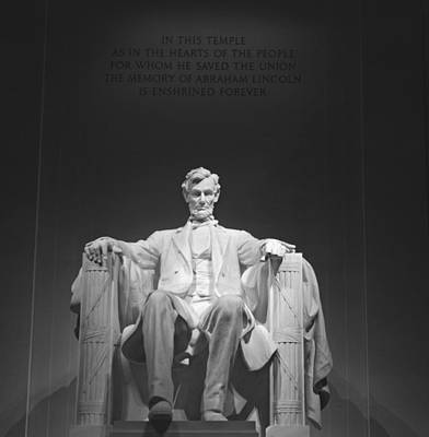 Photograph - Lincoln Memorial  by Richard Bryce and Family