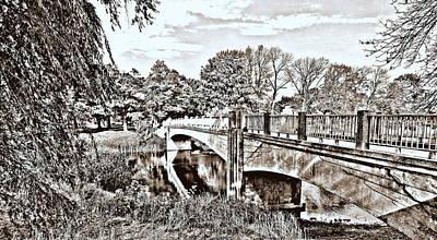 Photograph - Lincoln Park Bridge by Kay Novy