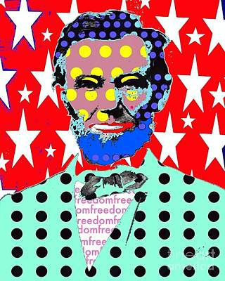 Lincoln Art Print by Ricky Sencion