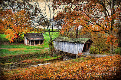 Lincoln's Homestead Art Print by Darren Fisher