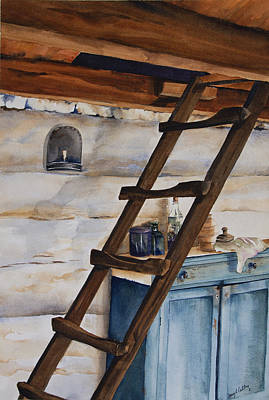 Lincoln's Ladder Original by Amy Caltry