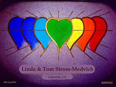 Linda And Tom Art Print