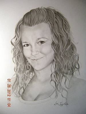 Drawing - Lindsay by Lori Ippolito