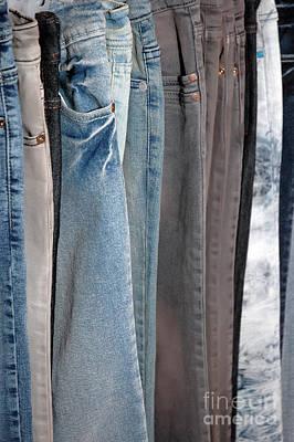 Line Of Jeans Art Print by Antoni Halim