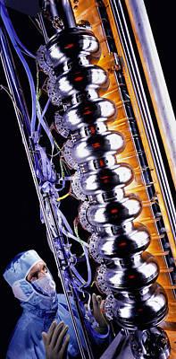 Resonator Photograph - Linear Accelerator by David Parker