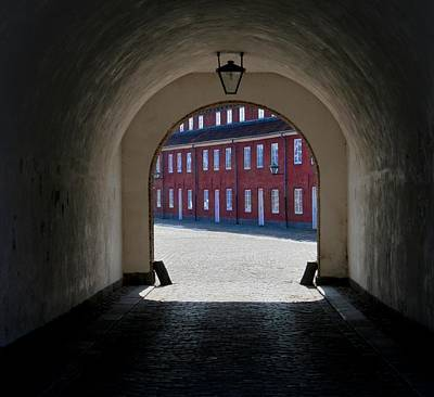 Portal Photograph - Lines At The End Of The Tunnel by Odd Jeppesen
