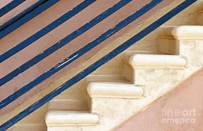 Stair-rail Photograph - Lines Up by Dan Holm