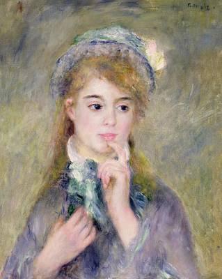 L'ingenue Print by Pierre Auguste Renoir