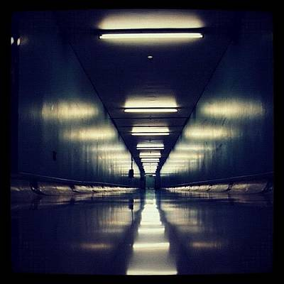 Science Fiction Photograph - Link Tunnel by Susannah Mchugh