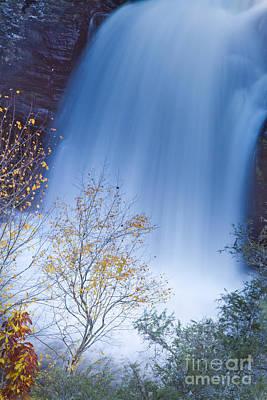 Linville Falls North Carolina Waterfall Art Print